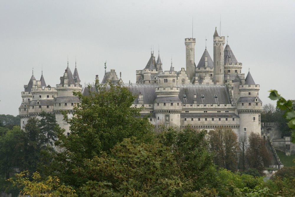 o Castelo de Pierrefond