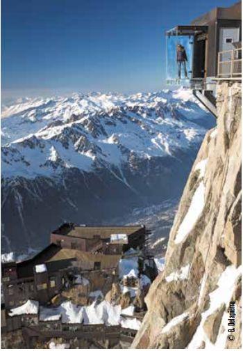 O Chamonix Mont-Blanc Aiguille du Midi