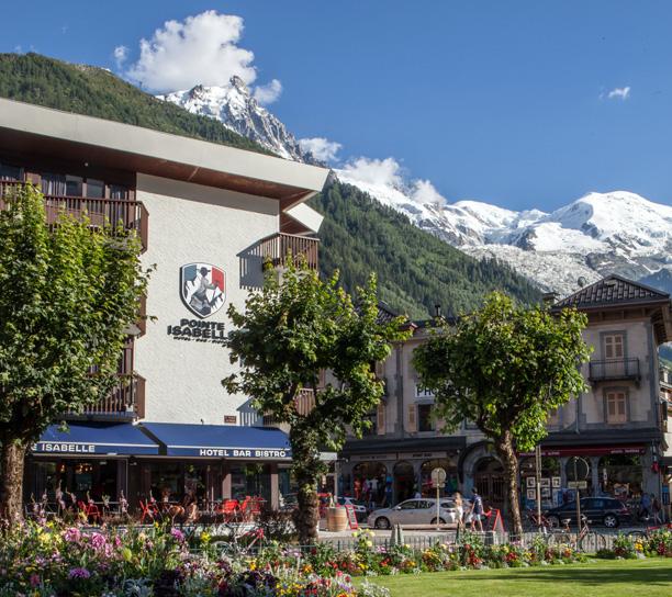 Chamonix Mont-Blanc -Isabelle Hotel